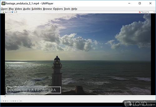 UMPlayer - Screenshot 1