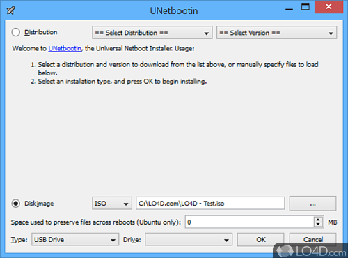 UNetbootin - Screenshot #1