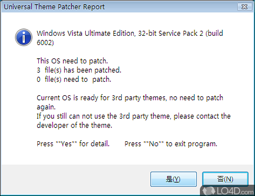Universal Theme Patcher - Screenshot 2