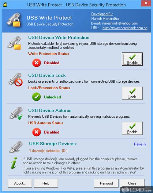 USB Write Protect - Download