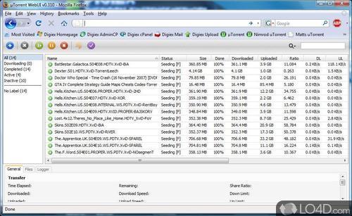 uTorrent WebUI - Download