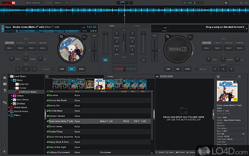 Virtual DJ Free - Screenshot 1