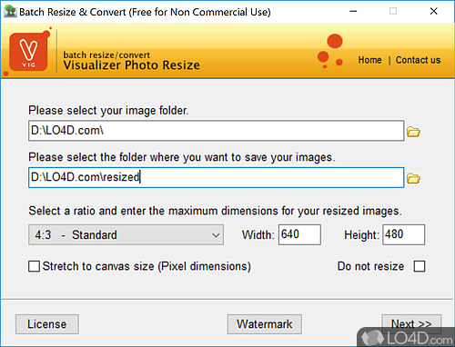 Visualizer Photo Resize - Download