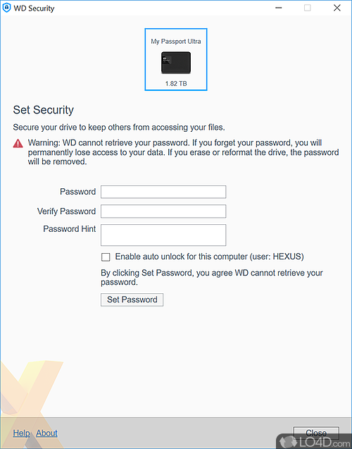 Wd Security Download