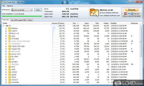 WizTree - Screenshot 2