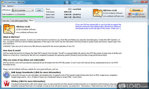 WizTree - Screenshot 3