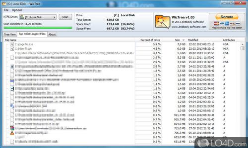 WizTree - Screenshot 1