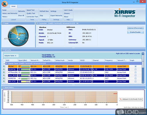 Xirrus Wi-Fi Inspector - Download