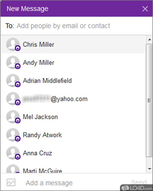 New Yahoo Messenger - Screenshot 1