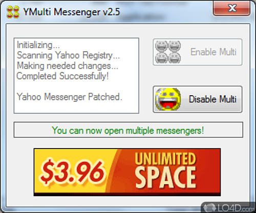 YMulti Messenger - Screenshot 1