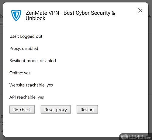ZenMate - Screenshot 1