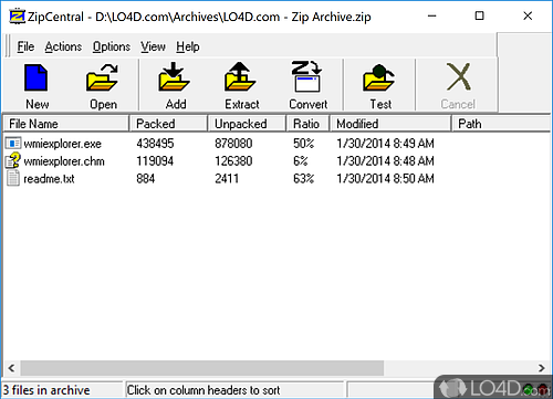 Freeware Unzip Software