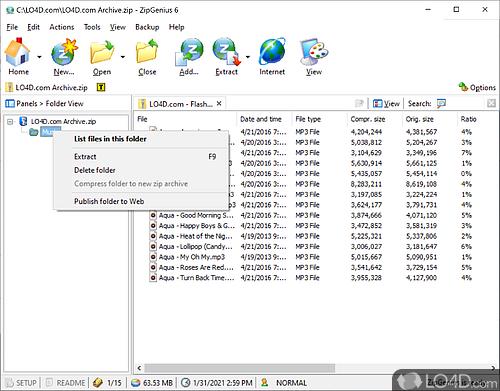 ZipGenius - Screenshot 4