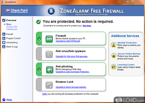 ZoneAlarm Free Firewall - Download
