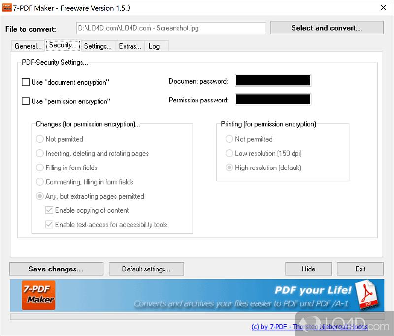 pdf creator free  for windows 7 32 bit