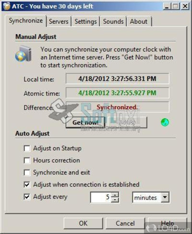 absolute time Absolute time corrector is a windows xp/server 2003/vista/7 program, designed to provide the exact time to local and network computers based on the time.