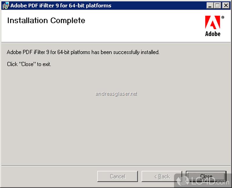 Adobe pdf ifilter 9 скачать
