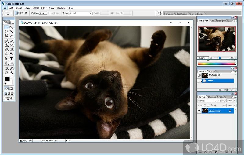 Of Adobe Photoshop CS2 (3). Screenshots.