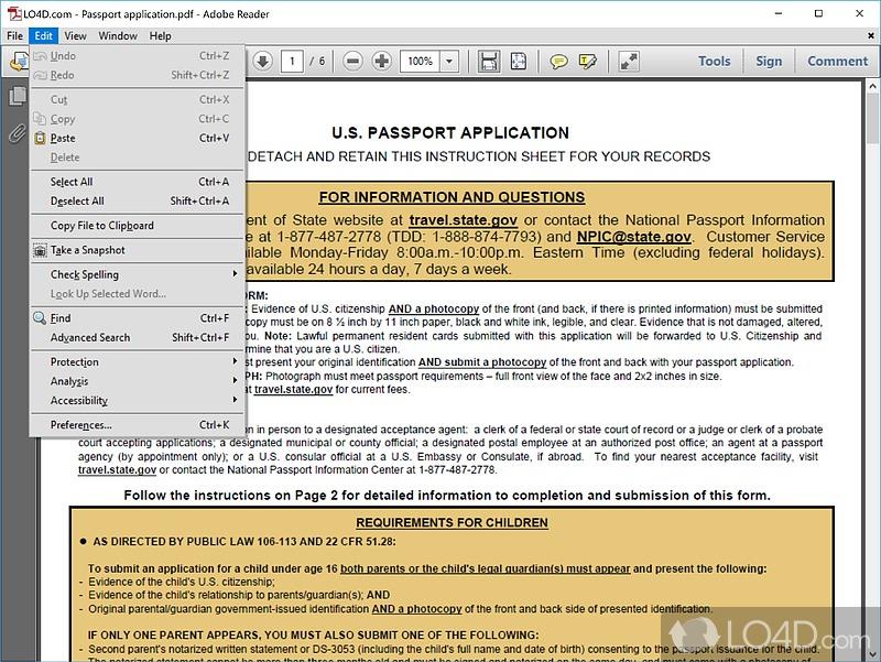 ... Adobe Reader XI - Screenshot 3 ...