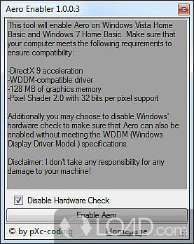 aero enabler windows 7 starter