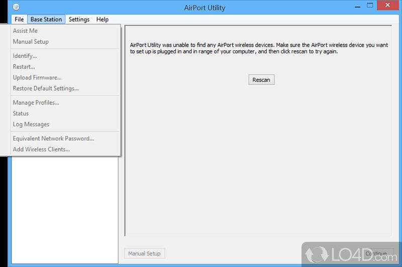 утилита Airport для Windows 7 - фото 10