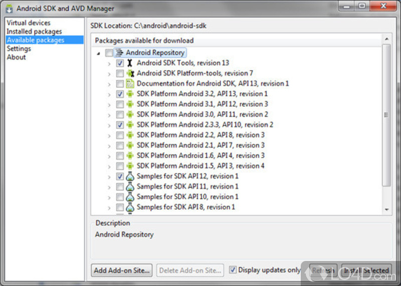 android sdk download for windows 10 64 bit