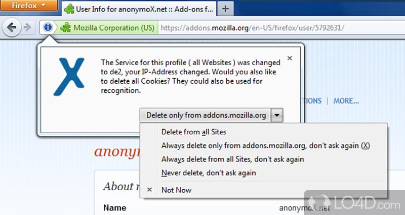 anonymox pour mozilla gratuit