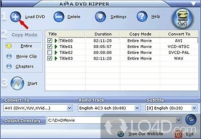 AoA DVD Ripper - 1