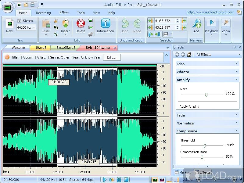 audio editor pro   screenshots