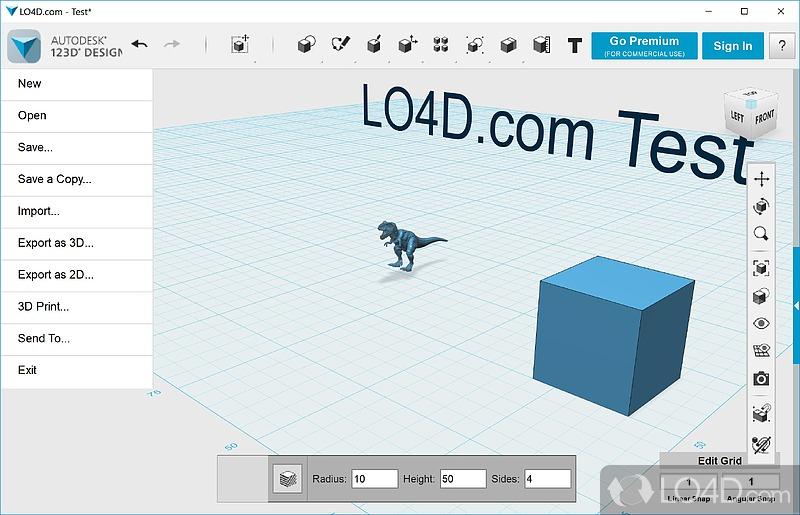 Autodesk 123D Design - 3