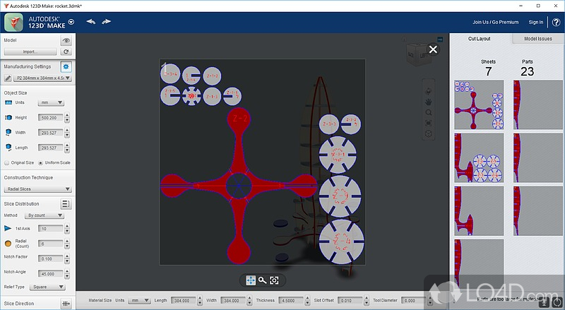 Autodesk 123D Make - 5