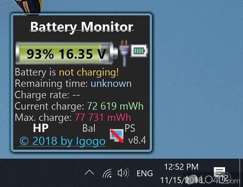 Battery Monitor - 1