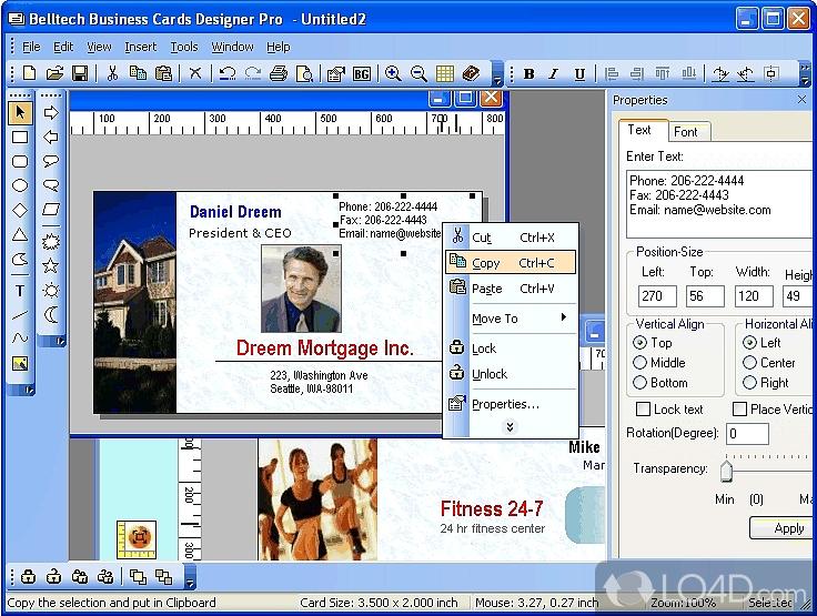 Business Card Designer Pro - Download