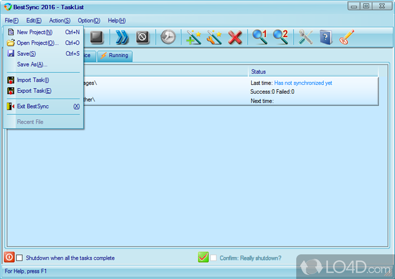 Bestsync ftp 2011 6 1 10 synchronize or mirror local folder with ftp server onlin