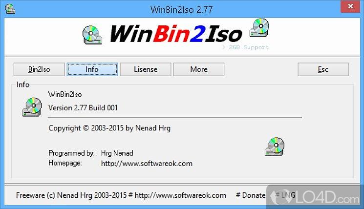 WinBin2Iso - 2