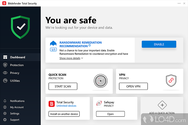 Bitdefender Total Security - Download