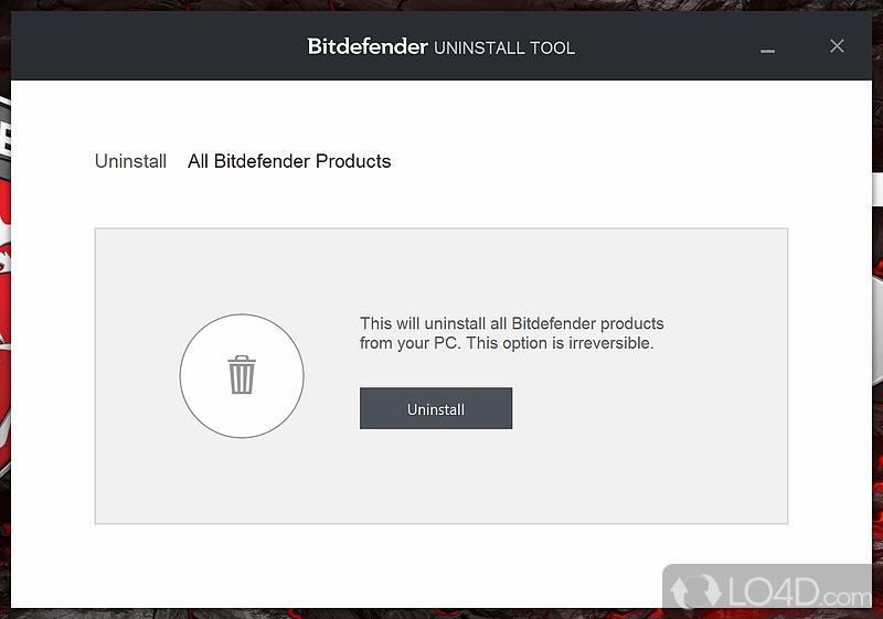 Bitdefender Uninstall Tool - Download