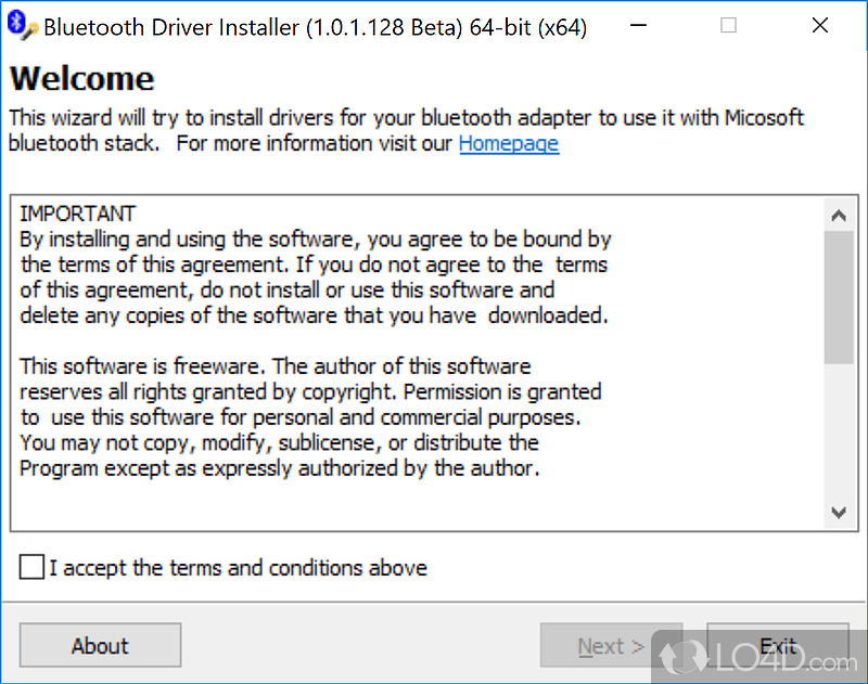 bluetooth adapter software free