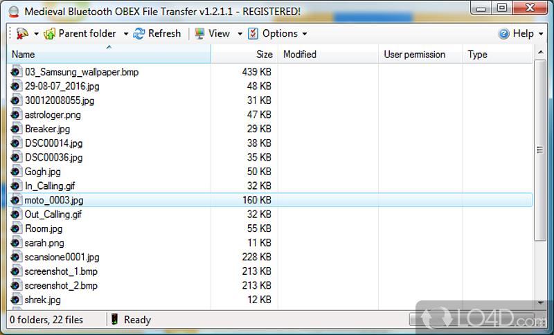 Скачать Bluetooth File Transfer
