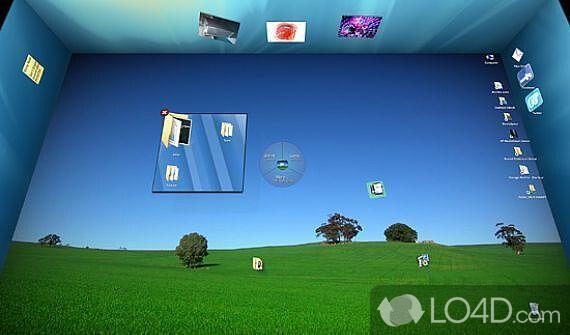 Как сделать рабочий стол 3d для windows 7
