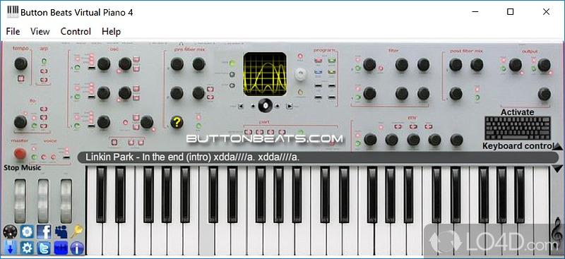 Button beats virtual piano с торрента