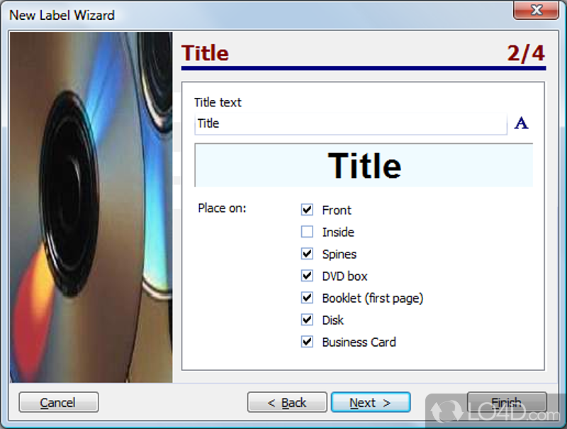 Cd label designer screenshots cd label designer screenshot 6 reheart Choice Image