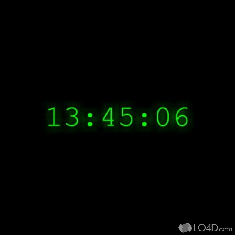 Xclock Digital Clock Screensaver Exobalkrav S Diary