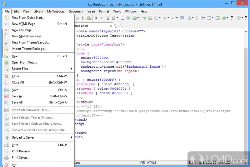 Essay editor online html wysiwyg web page