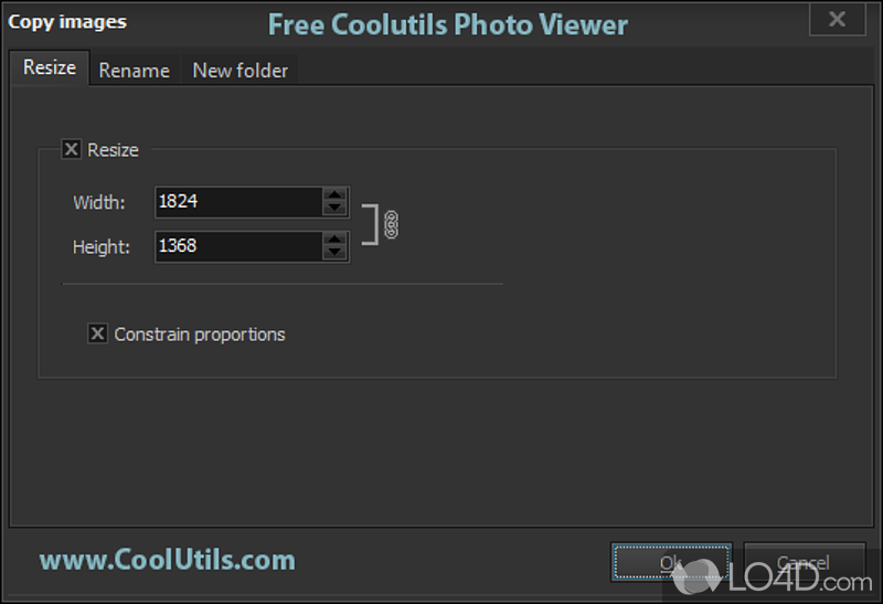 Coolutils photo viewer