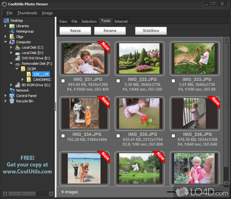 Coolutils Photo Viewer - Download