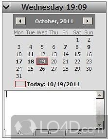 Desktop Calendar Wallpaper With Reminder : Desktop calendar reminder screenshots