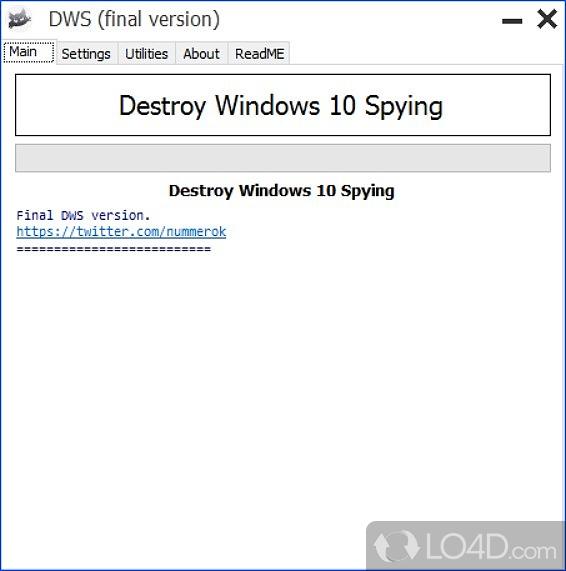 Destroy Windows 10 Spying - 1