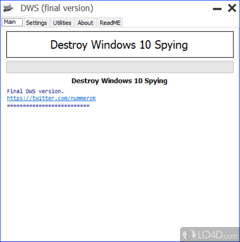 Image result for destroy windows 10 spying 1.6