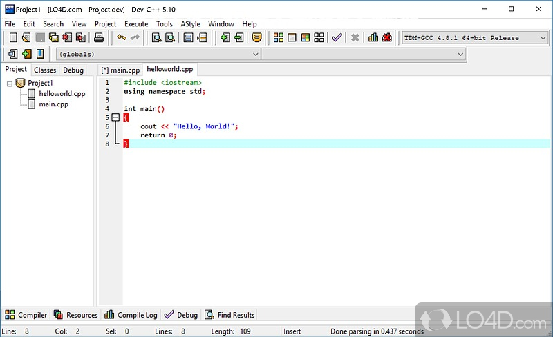 download dev-c++ portable 5.4.2